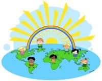 Kinderen van de wereld Royalty-vrije Stock Foto