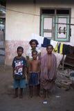 Kinderen van het dorp Lamalera Royalty-vrije Stock Foto's