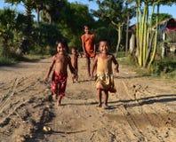 Kinderen van Kambodja Royalty-vrije Stock Afbeeldingen