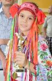 Kinderen vocaal festival Stock Afbeeldingen