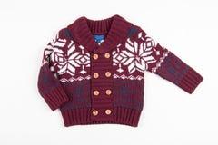 Kinderen warm vest (sweater) Royalty-vrije Stock Afbeelding