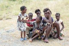 Kinderen in Zambia Royalty-vrije Stock Afbeeldingen