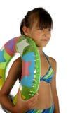 Kinderen in zwempak royalty-vrije stock afbeelding