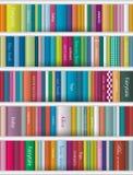 Kinderenboekenplank Stock Afbeeldingen