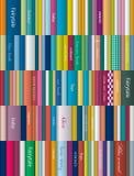 Kinderenboekenplank Royalty-vrije Stock Foto