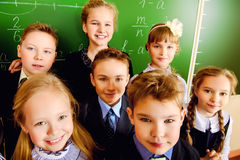 Kinderengezichten Royalty-vrije Stock Fotografie