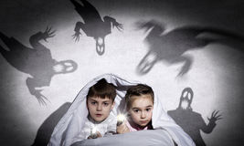 Kinderennachtmerries Royalty-vrije Stock Afbeelding