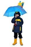 Kinderenregenjas Royalty-vrije Stock Foto's