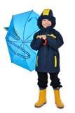 Kinderenregenjas Stock Afbeeldingen