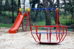 Kinderenspeelplaats Stock Foto