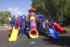 Kinderenspeelplaats, Stock Foto's