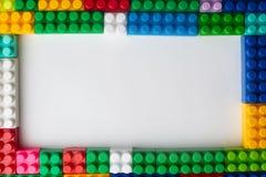 Kinderentwicklung, Bausteine und Bau lizenzfreie stockfotos