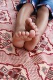 Kinderenvoeten Stock Foto's