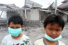Kinderflüchtlinge Stockbild