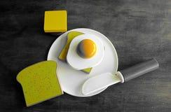 Kinderfrühstück Lizenzfreie Stockfotografie