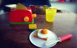 Kinderfrühstück Lizenzfreie Stockfotos