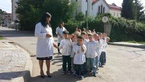 Kindergart childs Στοκ εικόνα με δικαίωμα ελεύθερης χρήσης
