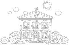 kindergarten illustration libre de droits
