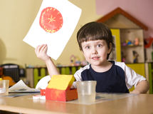 Kindergarten Stock Photography