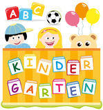 Kindergarten royalty free stock photos