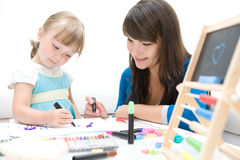Kindergarten Royalty Free Stock Photo