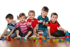 Kindergarten Royalty Free Stock Images
