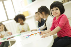 kindergarten lizenzfreie stockfotos