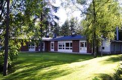 Kindergarten building Stock Image