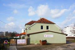 Kindergarten building Stock Images