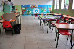 Kindergarten class Royalty Free Stock Image