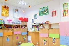 Kindergarten. Class room without kids Stock Photo