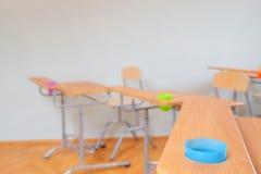 Kindergarten classroom interior Royalty Free Stock Photos