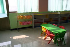 Kindergarten classrooms Stock Photos