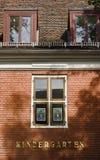Kindergarten Facade. Facade of a Kindergarten in the Dutch Quarter, Potsdam Stock Photos