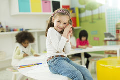 Kindergarten Stock Images