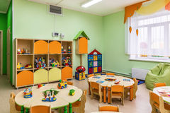 Kindergarten, game room.