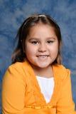 Kindergarten Girl Portrait Stock Photo