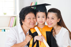 Kindergarten graduate Royalty Free Stock Photo
