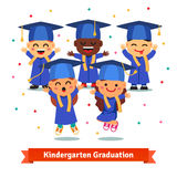 Kindergarten graduation party Stock Photos