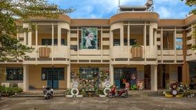 Kindergarten Hoa Chau, Dorf von Phuong Nam bewirtschaftend, Vietnam lizenzfreies stockbild
