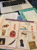 Kindergarten Homework 2015 Royalty Free Stock Photo
