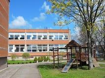 Kindergarten house, Lithuania Stock Images