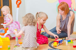 Kindergarten. Royalty Free Stock Image