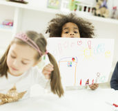 Kindergarten Royalty Free Stock Photography