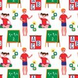 Kindergarten original stock illustration