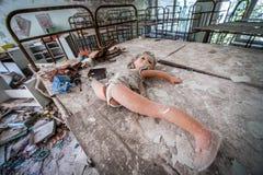 Kindergarten in Pripyat lizenzfreies stockbild