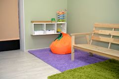 Kindergarten room interior Stock Images