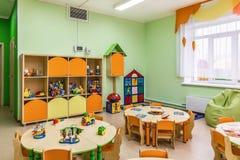 Kindergarten, Spielraum lizenzfreies stockbild