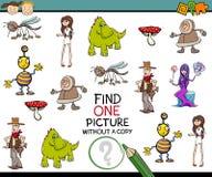 Kindergarten task for children Stock Image