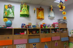 Kindergartenklasse Lizenzfreie Stockfotografie